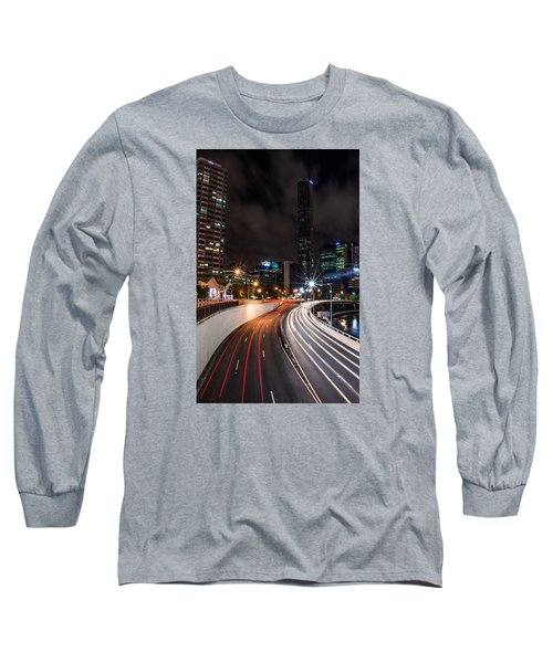 Colors Of The City Long Sleeve T-Shirt by Parker Cunningham