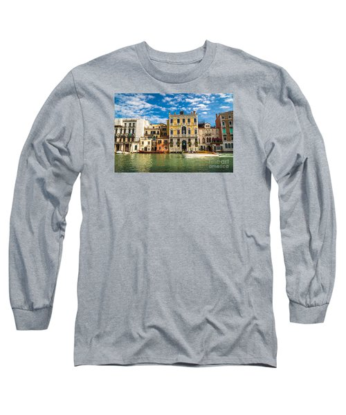 Colors Of Venice - Italy Long Sleeve T-Shirt