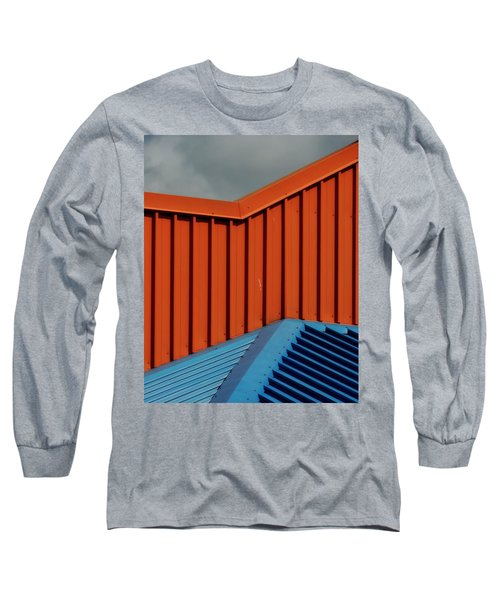 Coloured Corrugations 1 Long Sleeve T-Shirt