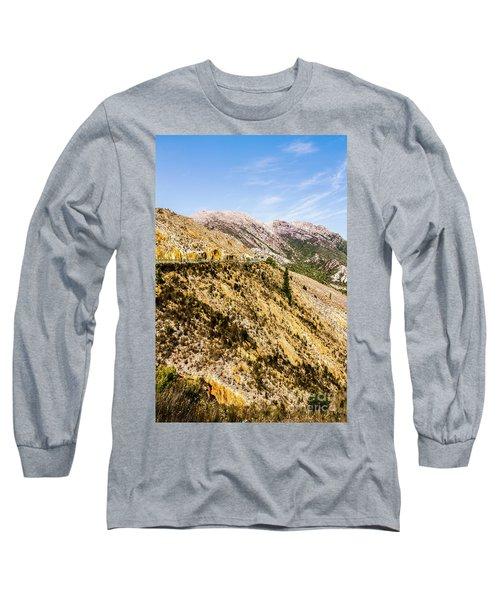 Colourful Stony Highlands Long Sleeve T-Shirt