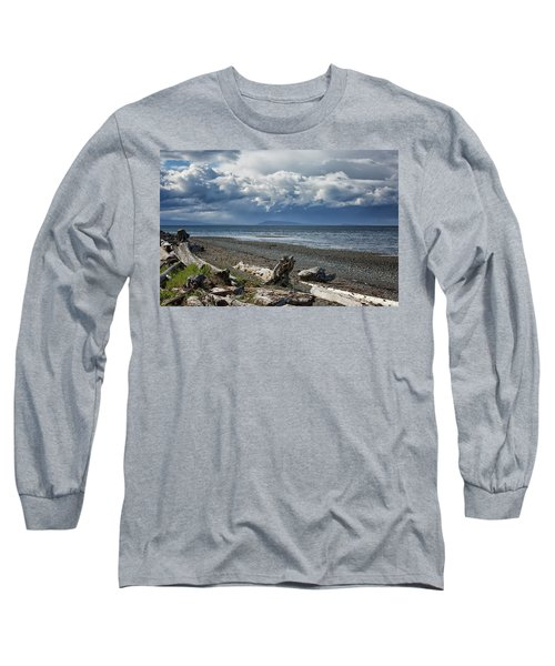 Columbia Beach Long Sleeve T-Shirt by Randy Hall