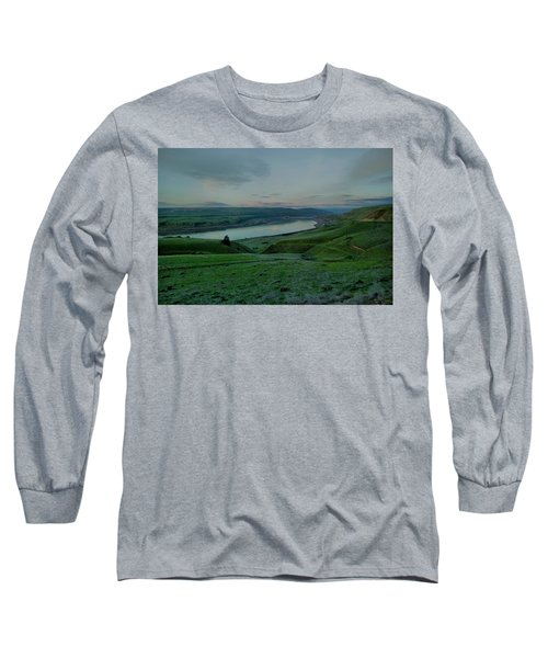 Long Sleeve T-Shirt featuring the photograph Columbia Gorge In Early Spring by Jeff Swan