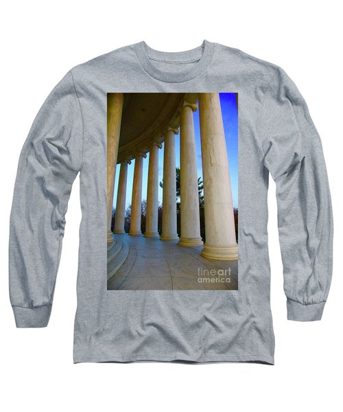 Columns At Jefferson Long Sleeve T-Shirt