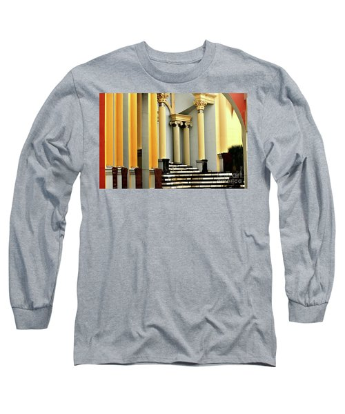 Columns At Plaza De Italia Long Sleeve T-Shirt