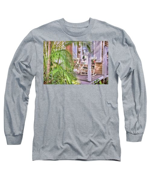 Come And Sit Awhile Long Sleeve T-Shirt