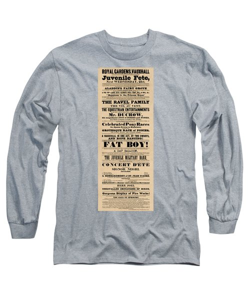 Come See The Fat Boy Long Sleeve T-Shirt