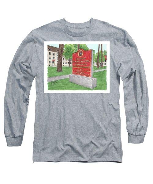 Commander Major General Russell A. Sanborn - Marforeuraf Long Sleeve T-Shirt