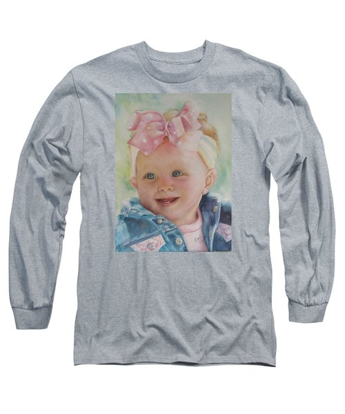 Commissioned Toddler Portrait Long Sleeve T-Shirt
