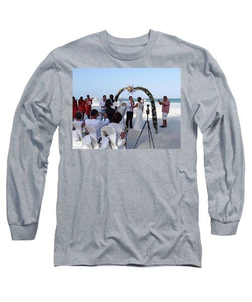 Commitment On The Beach In Kenya Long Sleeve T-Shirt