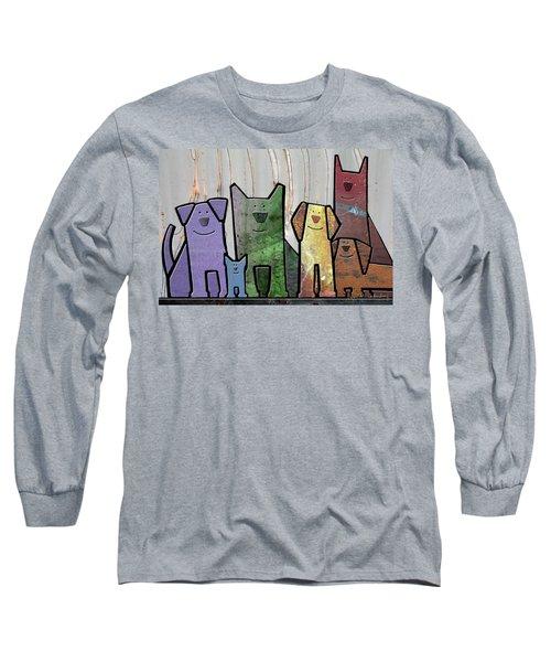 Committee Long Sleeve T-Shirt by Joan Ladendorf