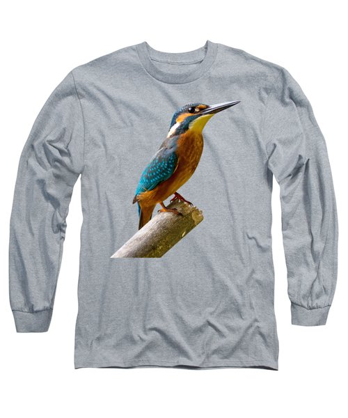 Common Kingfisher Alcedo Atthis Long Sleeve T-Shirt