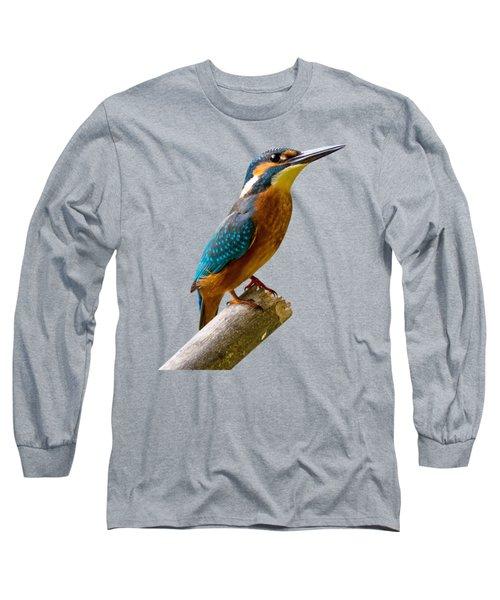 Common Kingfisher Alcedo Atthis Long Sleeve T-Shirt