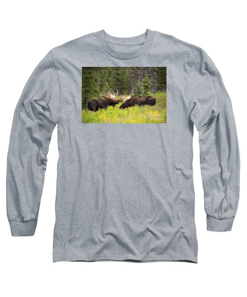 The Competition  Long Sleeve T-Shirt by Aaron Whittemore