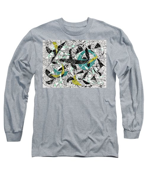 Composition #18 Long Sleeve T-Shirt