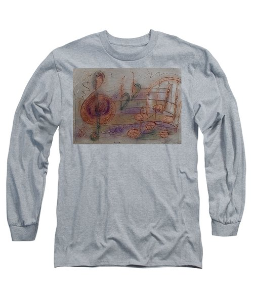 Composition In B Flat Long Sleeve T-Shirt