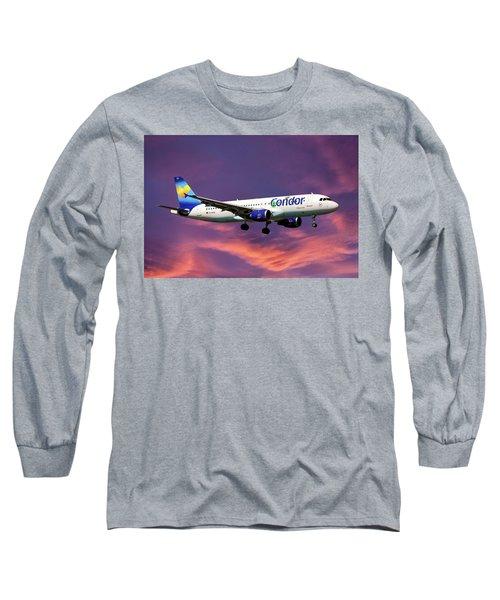 Condor Airbus A320-212 Long Sleeve T-Shirt