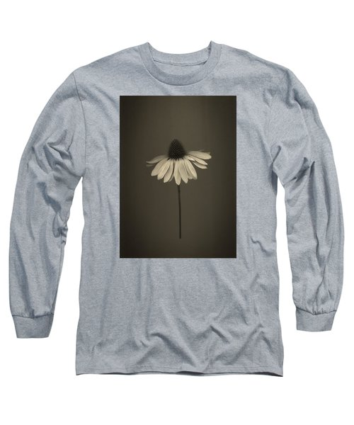 Cone Flower 8 Long Sleeve T-Shirt by Simone Ochrym