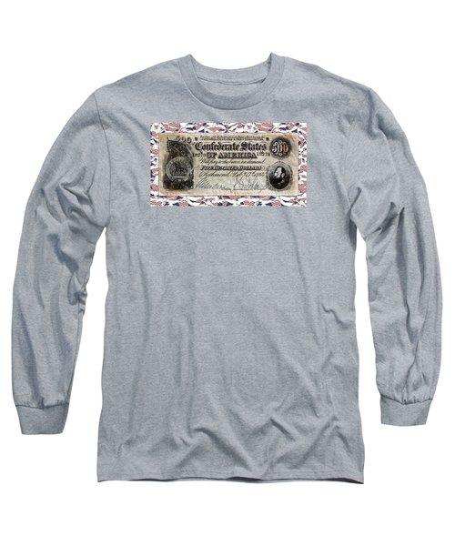 Confederate Money Long Sleeve T-Shirt