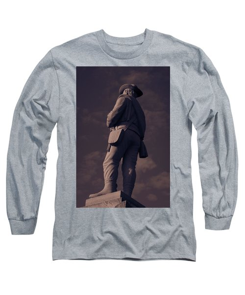 Confederate Statue Long Sleeve T-Shirt