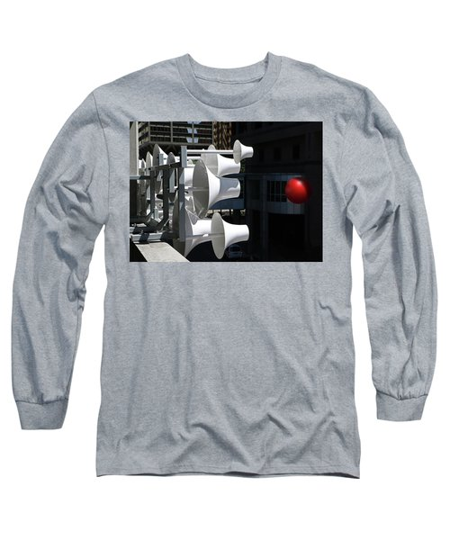 Long Sleeve T-Shirt featuring the photograph Conical Sculpture Stranger by Christopher McKenzie