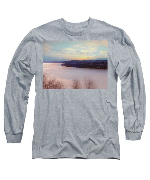 Connecticut River View From Gillette Castle. Long Sleeve T-Shirt