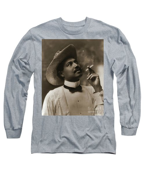 Long Sleeve T-Shirt featuring the photograph Connoisseur 1899 by Padre Art