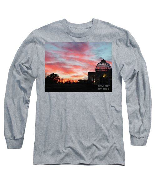 Conservatory At Sunset Long Sleeve T-Shirt