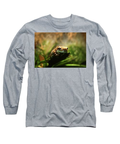 Long Sleeve T-Shirt featuring the photograph Content by Anthony Jones