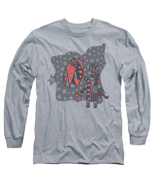 Conversation Long Sleeve T-Shirt by Neku Irodan