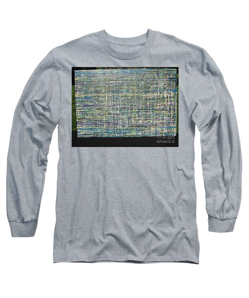 Long Sleeve T-Shirt featuring the painting Convoluted by Jacqueline Athmann