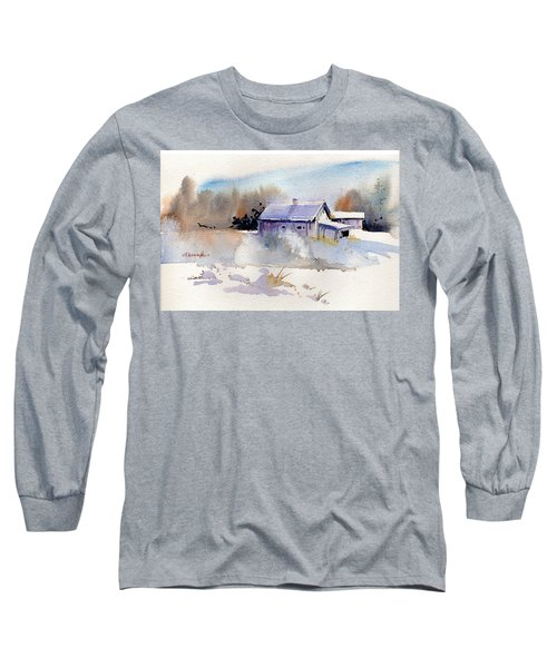 Cool Country Barn Long Sleeve T-Shirt