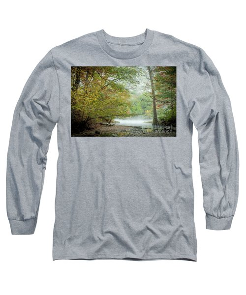 Cool Morning Long Sleeve T-Shirt by Iris Greenwell