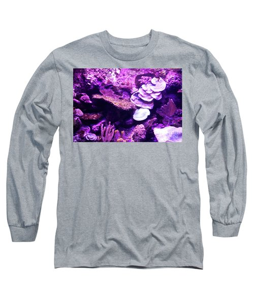 Long Sleeve T-Shirt featuring the digital art Coral Art 5 by Francesca Mackenney