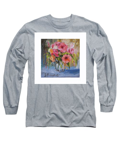 Long Sleeve T-Shirt featuring the painting Coral Bouquet by Jennifer Beaudet