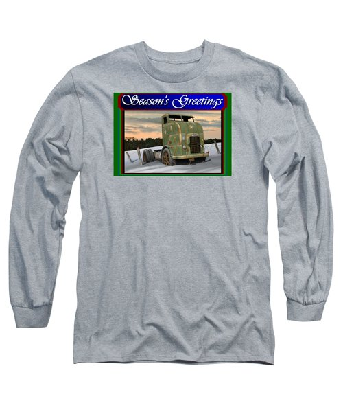 Corbitt Christmas Card Long Sleeve T-Shirt by Stuart Swartz
