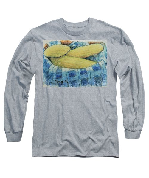Corn In A Basket Long Sleeve T-Shirt