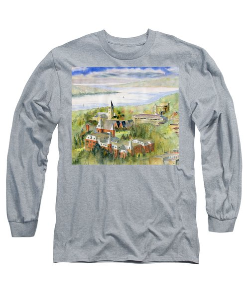 Cornell University Long Sleeve T-Shirt by Melly Terpening