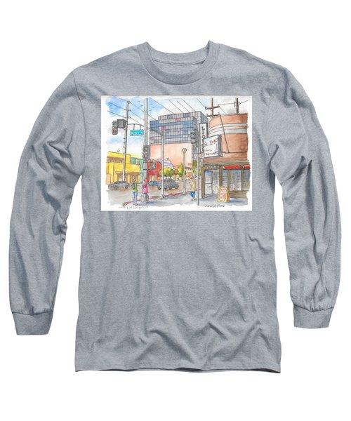 Corner 3rd St. And Orlando, Los Angeles, Ca Long Sleeve T-Shirt