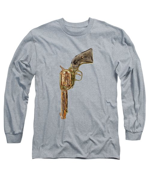 Corroded Peacemaker Long Sleeve T-Shirt by YoPedro