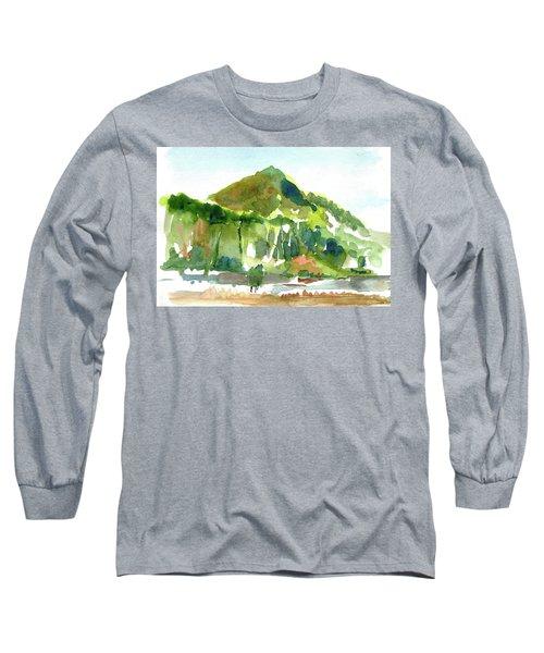 Corte Madera Creek Long Sleeve T-Shirt by Tom Simmons