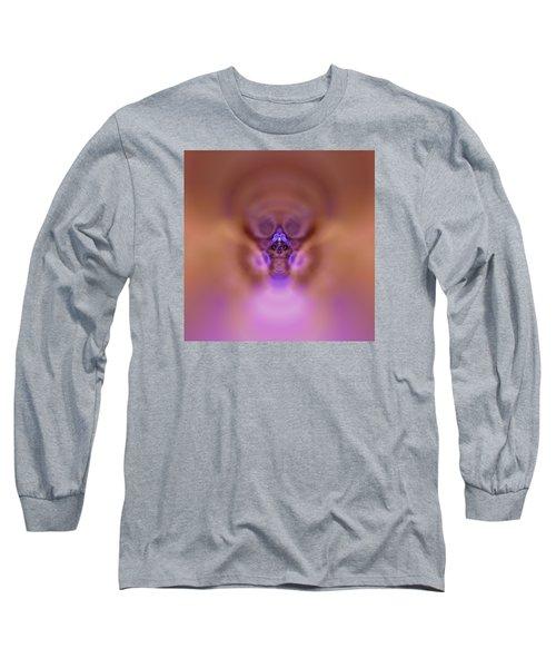 Long Sleeve T-Shirt featuring the digital art Cosmic Cat by Robert Thalmeier