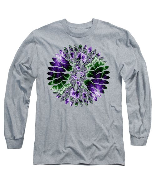 Cosmic Leaves Long Sleeve T-Shirt