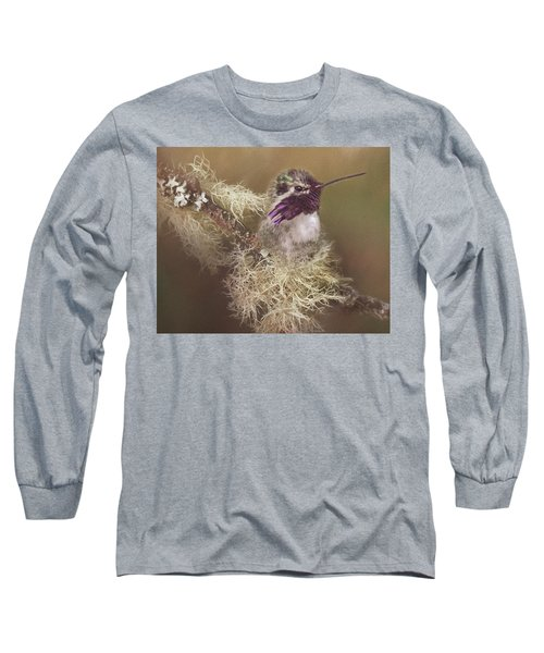 Costas Hummingbird Painted Long Sleeve T-Shirt