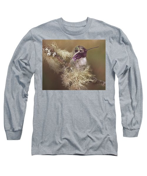 Costas Hummingbird Painted Long Sleeve T-Shirt