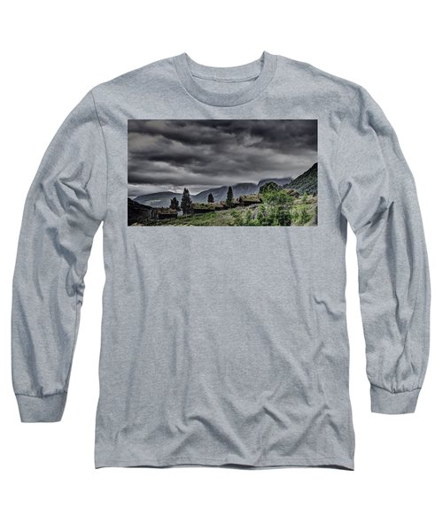 Cottages Long Sleeve T-Shirt