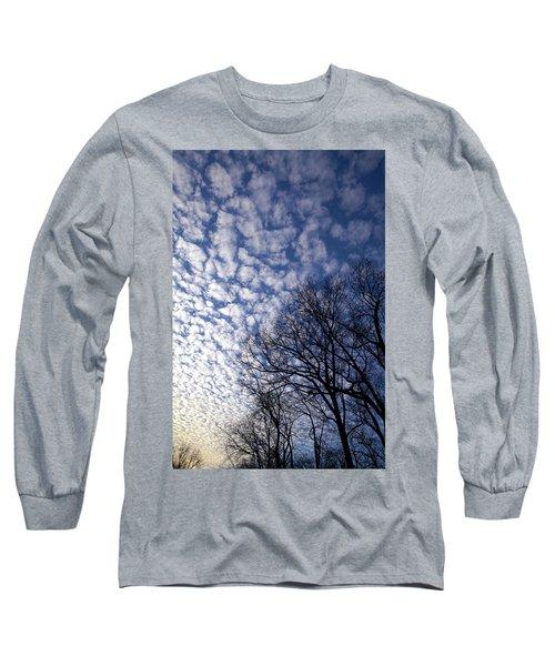 Cotton Boll Sky Long Sleeve T-Shirt