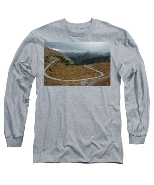 Long Sleeve T-Shirt featuring the photograph Cottonwood Pass #2 by Dana Sohr