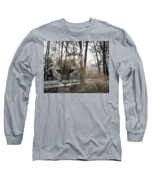 Cougar The Cunning One Long Sleeve T-Shirt