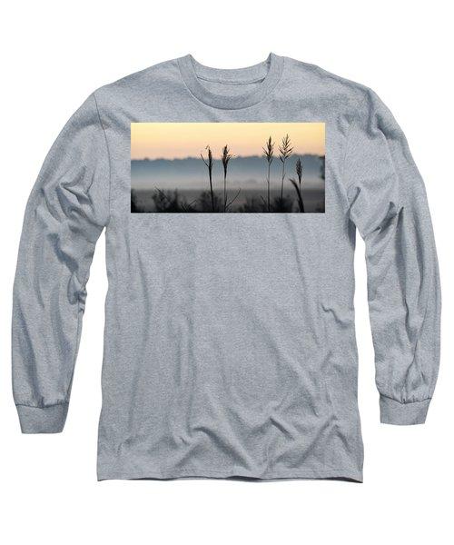Hayseed Johnny Long Sleeve T-Shirt by John Glass