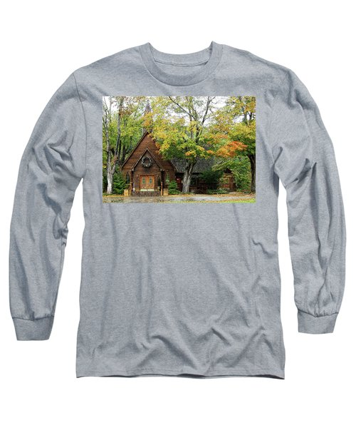 Long Sleeve T-Shirt featuring the photograph Country Chapel by Jerry Battle